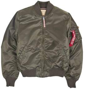 Alpha Industries Dark Green MA 1 VF 59 257 Jacket - S - Green
