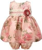 Jayne Copeland Floral Scalloped Dress