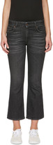 6397 Black Mini Kick Jeans