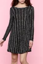Miss Darlin Black Knit Dress