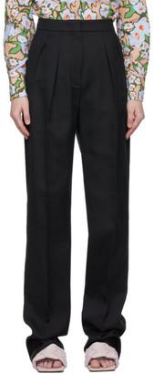 Sportmax Black Ovale Trousers