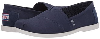 BOBS from SKECHERS Chill Luxe - Sierra Sundays (Navy) Women's Shoes