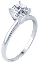 3/4 CT. T.W. IGL certified Round-cut Diamond Solitaire Prong Set Ring in 14K Gold (HI-I2I3)