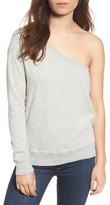 Pam & Gela Women's One-Shoulder Sweatshirt
