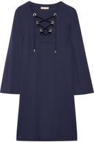 Michael Kors Stretch-jersey Mini Dress - Navy