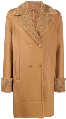 Inès & Marèchal Shearling Lined Coat