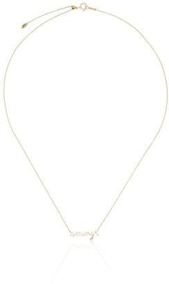 PERSÉE 18kt yellow gold Amour diamond necklace