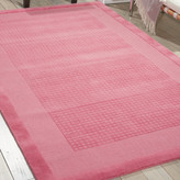 Nourison Westport Pink Area Rug Rug