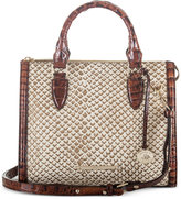 Brahmin Onyx Java Anywhere Convertible Satchel, A Macy's Exclusive Style