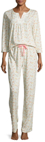 Midnight by Carole Hochman Carole Hochman Printed Pajama Set