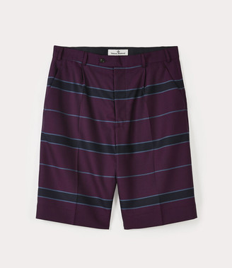 Vivienne Westwood School Boy Shorts Purple