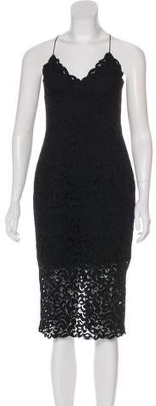 Nicholas Lace Midi Dress w/ Tags Black Lace Midi Dress w/ Tags