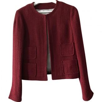 Edward Achour Red Wool Jacket for Women