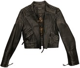 Oakwood Black Leather Leather Jacket for Women