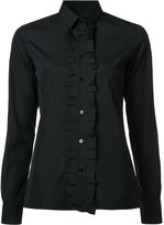 Maison Margiela ruffle placket shirt