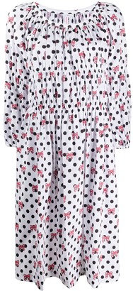 COMME DES GARÇONS GIRL Minnie Bow flared dress
