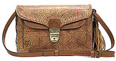 Patricia Nash Venetian Tooled Collection Cassano Tasseled Convertible Cross-Body Bag