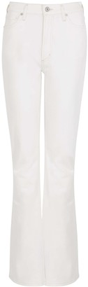 Citizens of Humanity Georgia White Bootcut Jeans