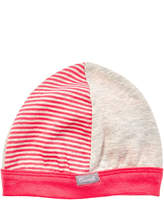 Coccoli Boys' Oatmeal & Dark Pink Cap
