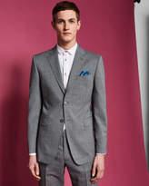 Ted Baker Slim fit semi plain wool suit jacket