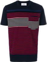 Pringle multi-stripe T-shirt