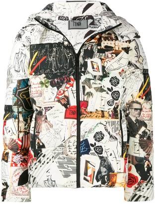 Fendi Karl Kollage Reversible Jacket