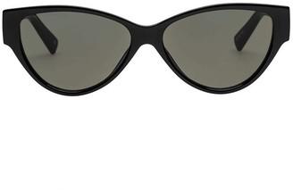 Le Specs Eureka Sunglasses - Black Khaki Mono