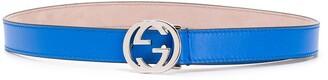 Gucci Kids Logo-Buckle Belt