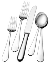 Mikasa Wallace Continental Classic 65 Piece Flatware Set, Service for 12