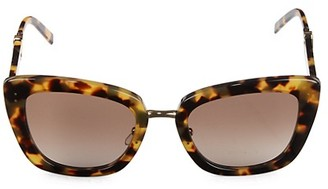 Marc Jacobs 53MM Butterfly Sunglasses