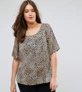 Junarose Leopard Print Shell Top