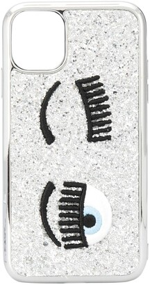 Chiara Ferragni Flirting eye iPhone 11 case