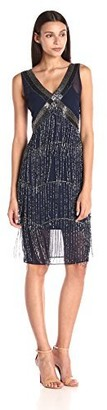 Unique Vintage Women's 1920S Vintage Inspired Beaded Countess Fringe Flapper Dress