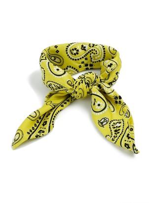 Topman Yellow Paisley Bandana*