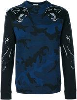 Valentino panther sweatshirt - men - Cotton/Polyamide - M
