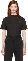 Vetements Black Basic staff T-shirt