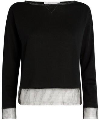 Fabiana Filippi Lurex-Trim Sweater