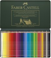 Faber-Castell Albrecht Durer Artist Watercolor Pencils In A Metal Tin 36/p