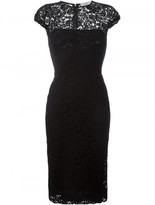 Victoria Beckham fitted lace dress
