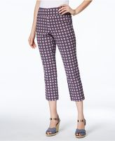 Charter Club Iconic-Print Capri Pants, Created for Macy's