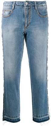 Ermanno Scervino embellished cropped jeans