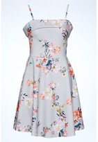 Select Fashion Fashion Print Bardot Skater Dress Dresses - size 6
