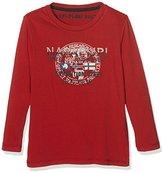 Napapijri Boy's K SYLIS Long Sleeve Top, Red (OLD RED)