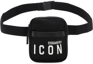DSQUARED2 Mini Icon Print Tech Belt Bag