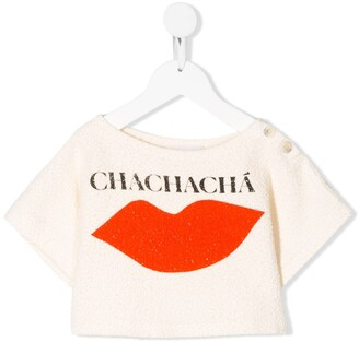 Bobo Choses Chachacha lips print T-shirt