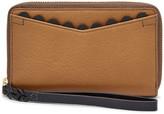 Fossil Caroline RFID Smartphone Zip Around Wallet