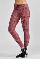 The Upside Red Paisley Yoga Pant
