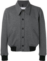 Ami Alexandre Mattiussi Jersey Jacket - men - Polyamide/Virgin Wool - S