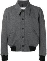 Ami Alexandre Mattiussi Jersey Jacket - men - Polyamide/Virgin Wool - XS