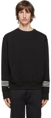 Neil Barrett Black Stripe Sweatshirt